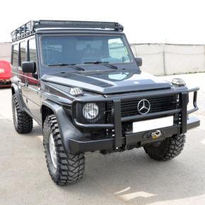 Mercedes G-класс. Силовой бампер, багажник